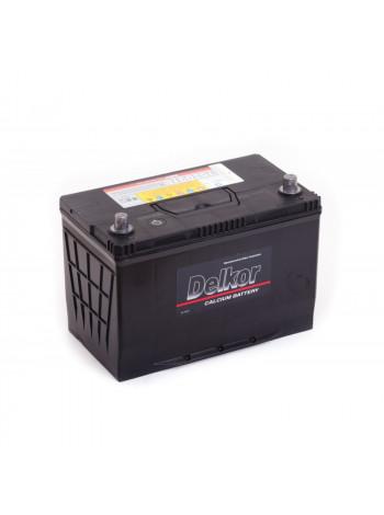 Автомобильный аккумулятор Delkor DF90L