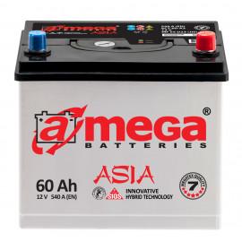 Аккумулятор A-mega Asia 60