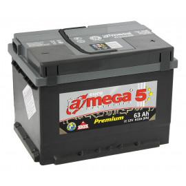 Аккумулятор A-mega Premium 63 R