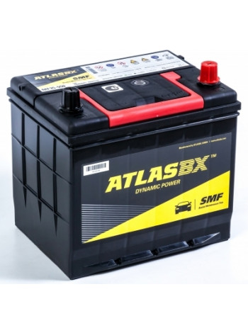 Аккумулятор автомобильный Atlas 60 Ач 550 А D23L