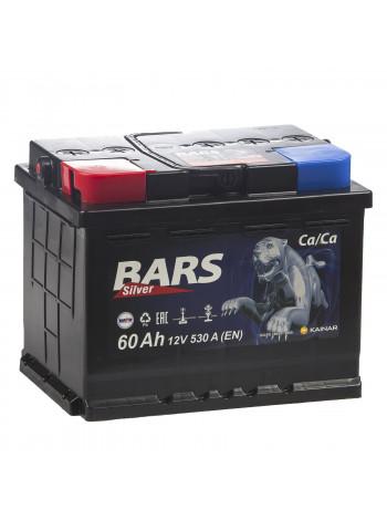 Аккумулятор автомобильный Bars Silver 6СТ 60 Ah