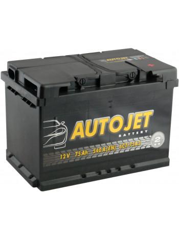 Аккумулятор автомобильный Autojet 6СТ-75-А3E