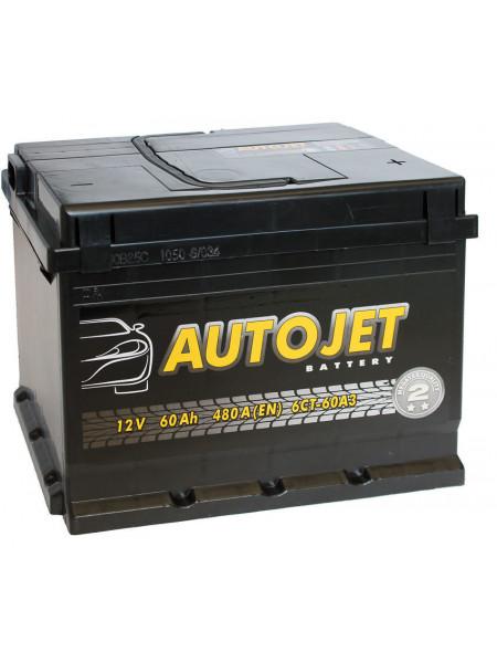 Аккумулятор Autojet 6СТ-60-А3E