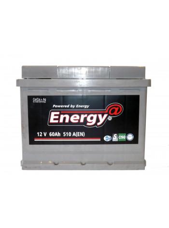Аккумулятор автомобильный Energy DIN60