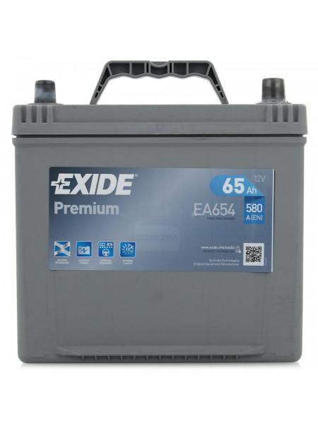 Аккумулятор Exide EA654 65D23L