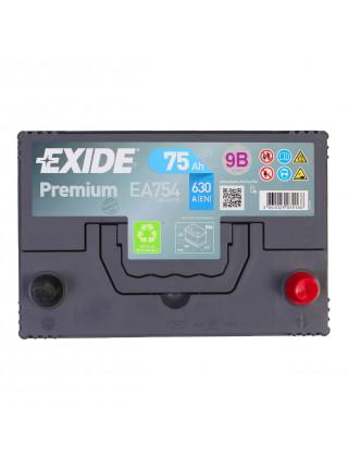 Аккумулятор Exide EA754 D26