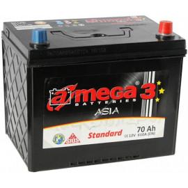 Аккумулятор A-mega Standard Asia 70 R+
