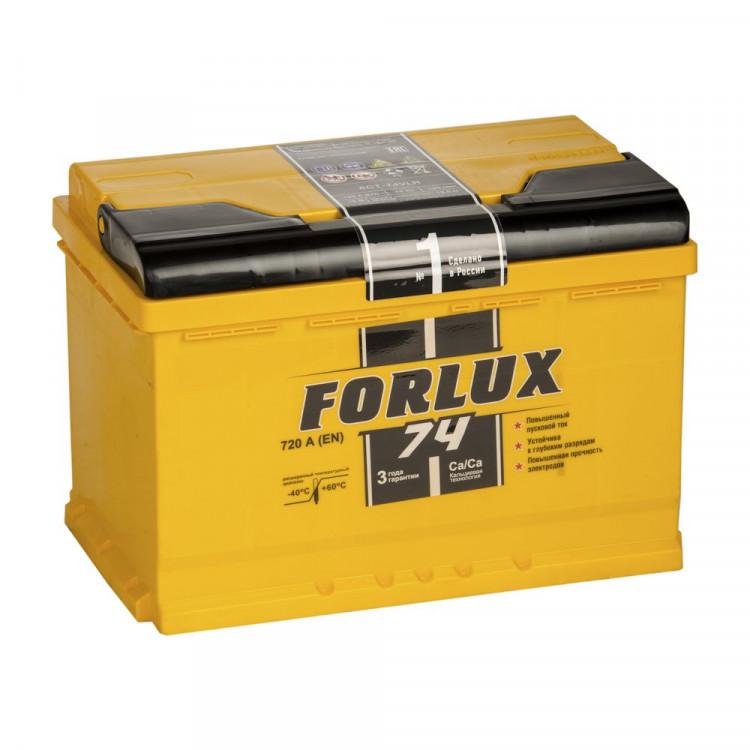 Аккумулятор Forlux 6СТ 74 Ah