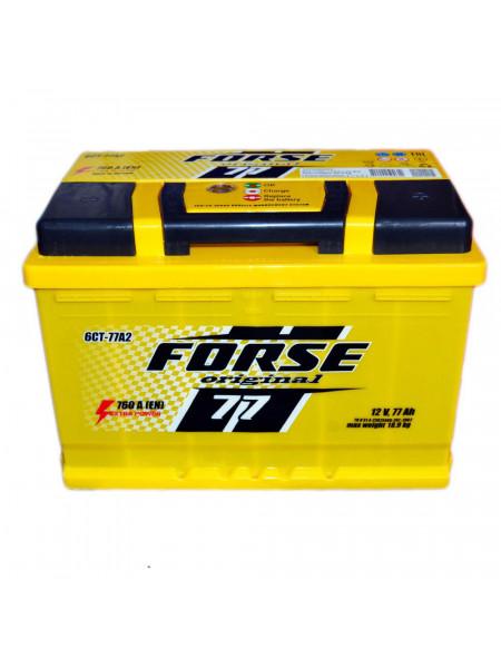 Аккумулятор Forse 6СТ-77 77 Ач 760 А