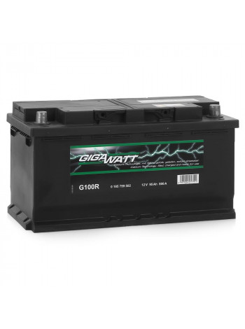 Аккумулятор автомобильный GigaWatt G100R
