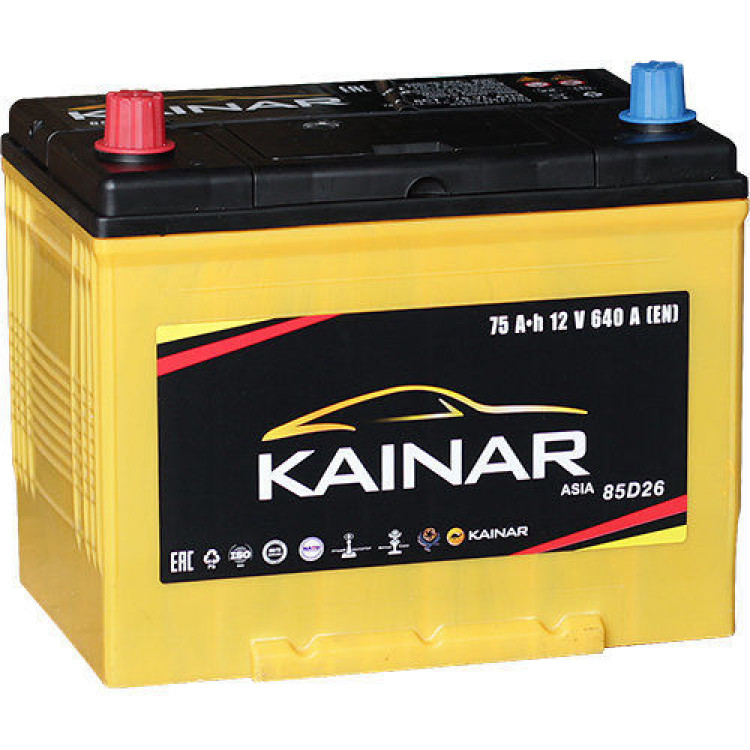 Аккумулятор Kainar 75 Ач 640 А