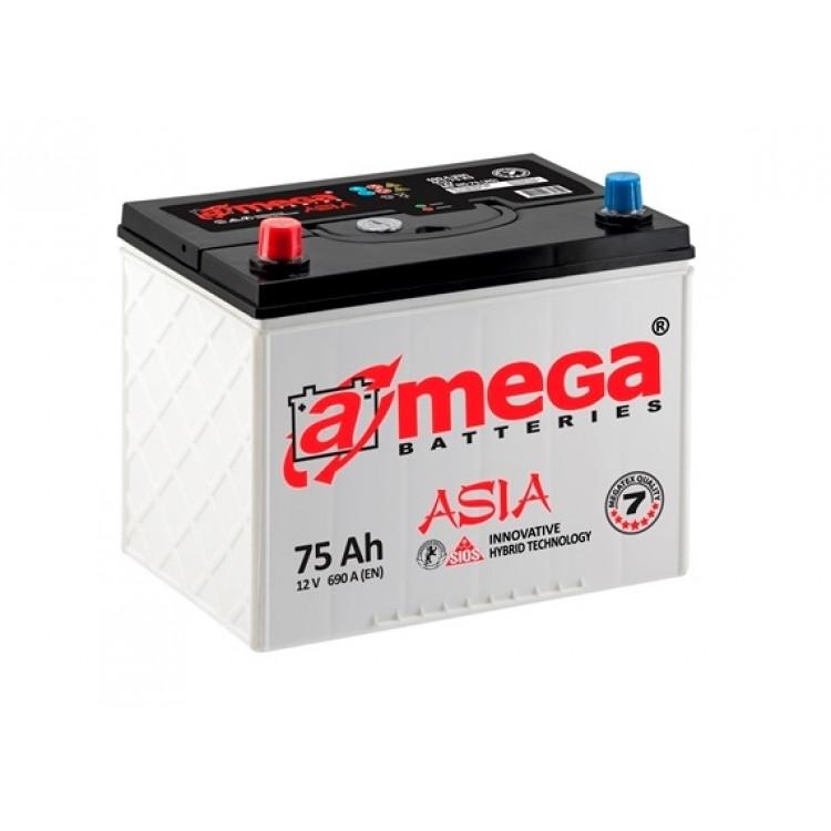 Аккумулятор A-mega Asia 75