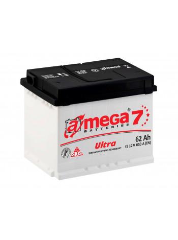 Аккумулятор автомобильный A-mega Ultra 62