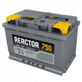 Аккумулятор Reactor 75 Ач 750А