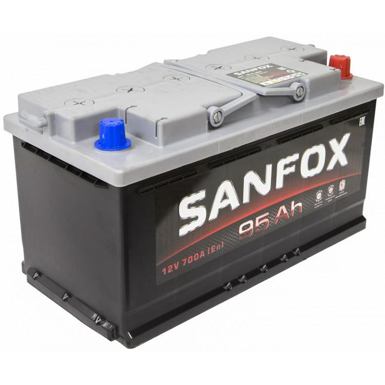 Аккумулятор Sanfox 95 Ач 700 А