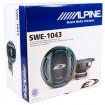 Сабвуфер Alpine SWE-1043