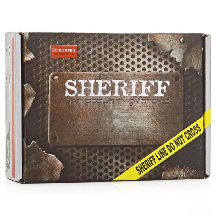 Автосигнализация Sheriff ZX-1070PRO