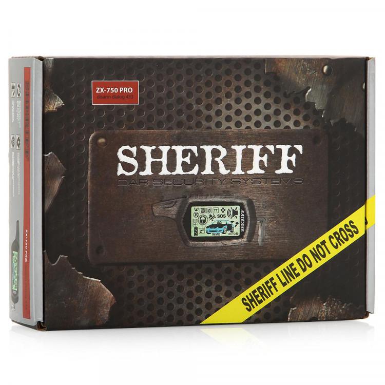 Автосигнализация Sheriff ZX-750PRO