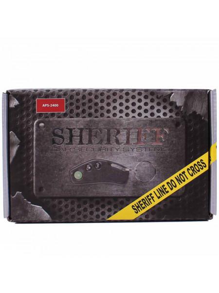 Автосигнализация Sheriff ZX-2400