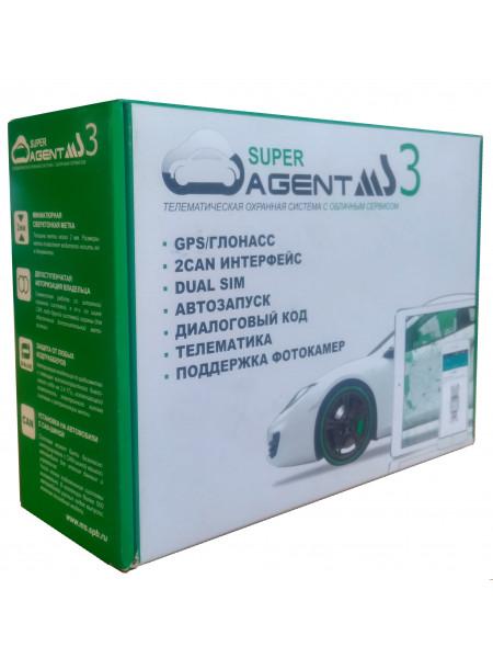 Автосигнализация Super Agent MS 3
