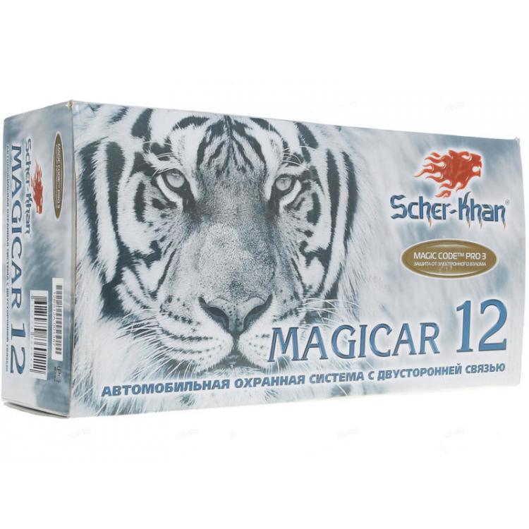 Автосигнализация Scher-Khan Magicar 12