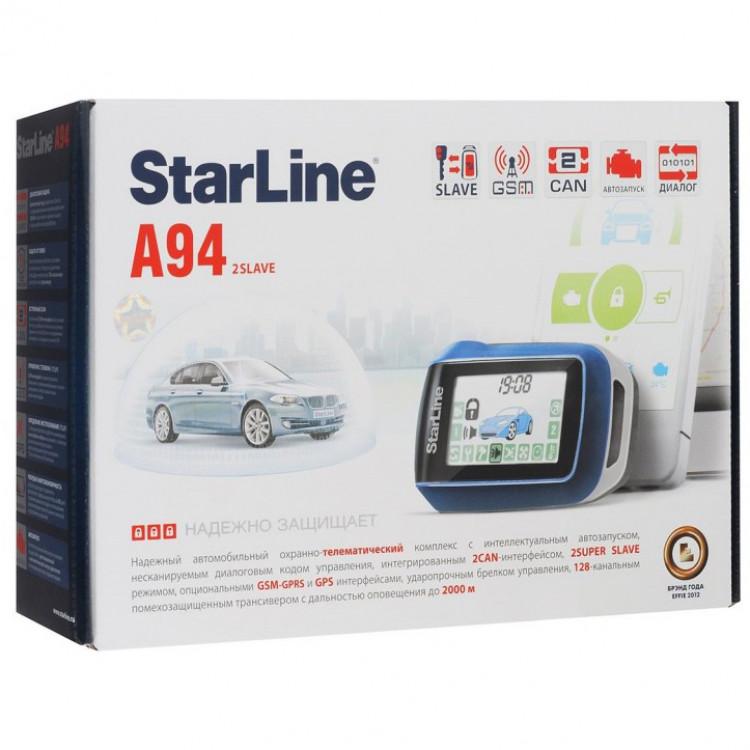 Автосигнализация StarLine A94 CAN GSM