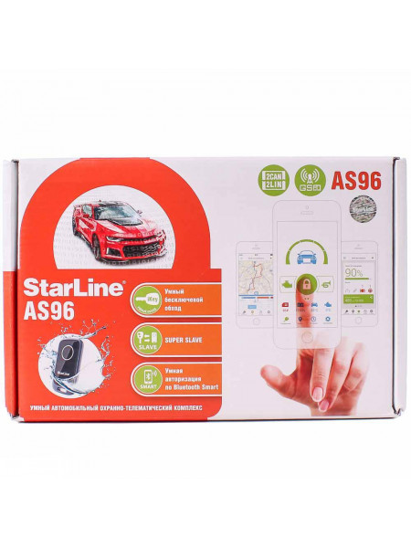 Автосигнализация StarLine AS96 BT 2CAN-LIN GSM
