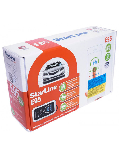 Автосигнализация StarLine E95 BT 2CAN-LIN