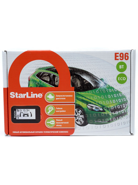 Автосигнализация StarLine E96 BT ECO