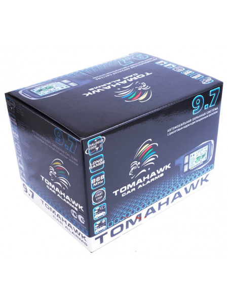 Автосигнализация TOMAHAWK 9.7 CAN