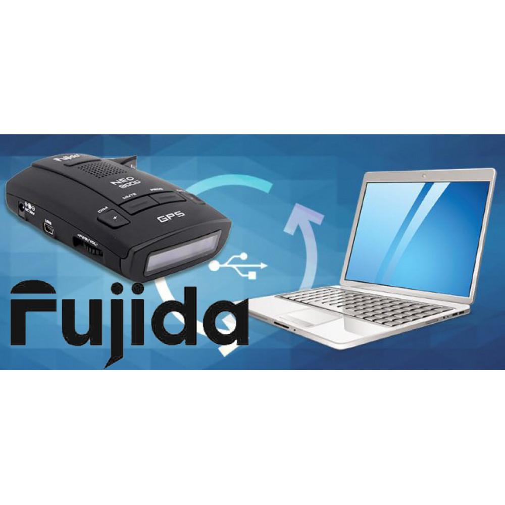 База камер и радаров для радар-детекторов Fujida