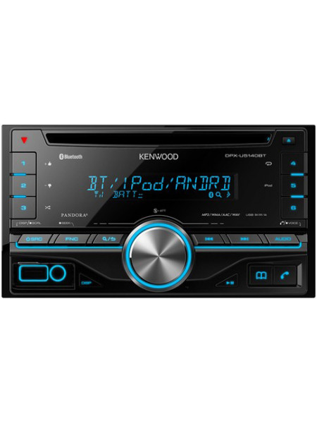 Автомагнитола KENWOOD DPX-U5140BT