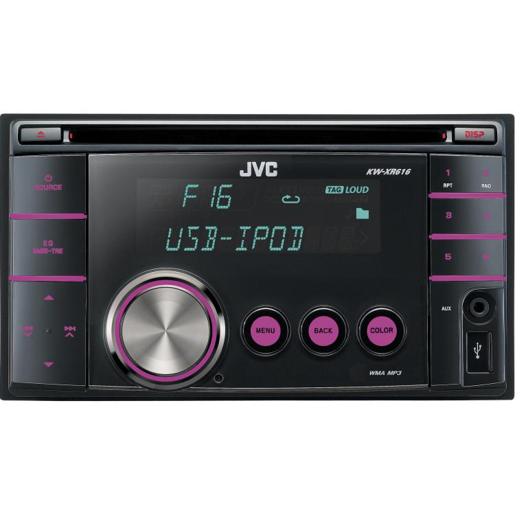 Автомагнитола JVC KW-XR616