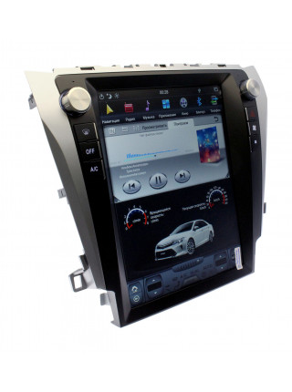 Тесла-монитор HARDSTONE VD1420 Toyota Camry 50 2012-2015